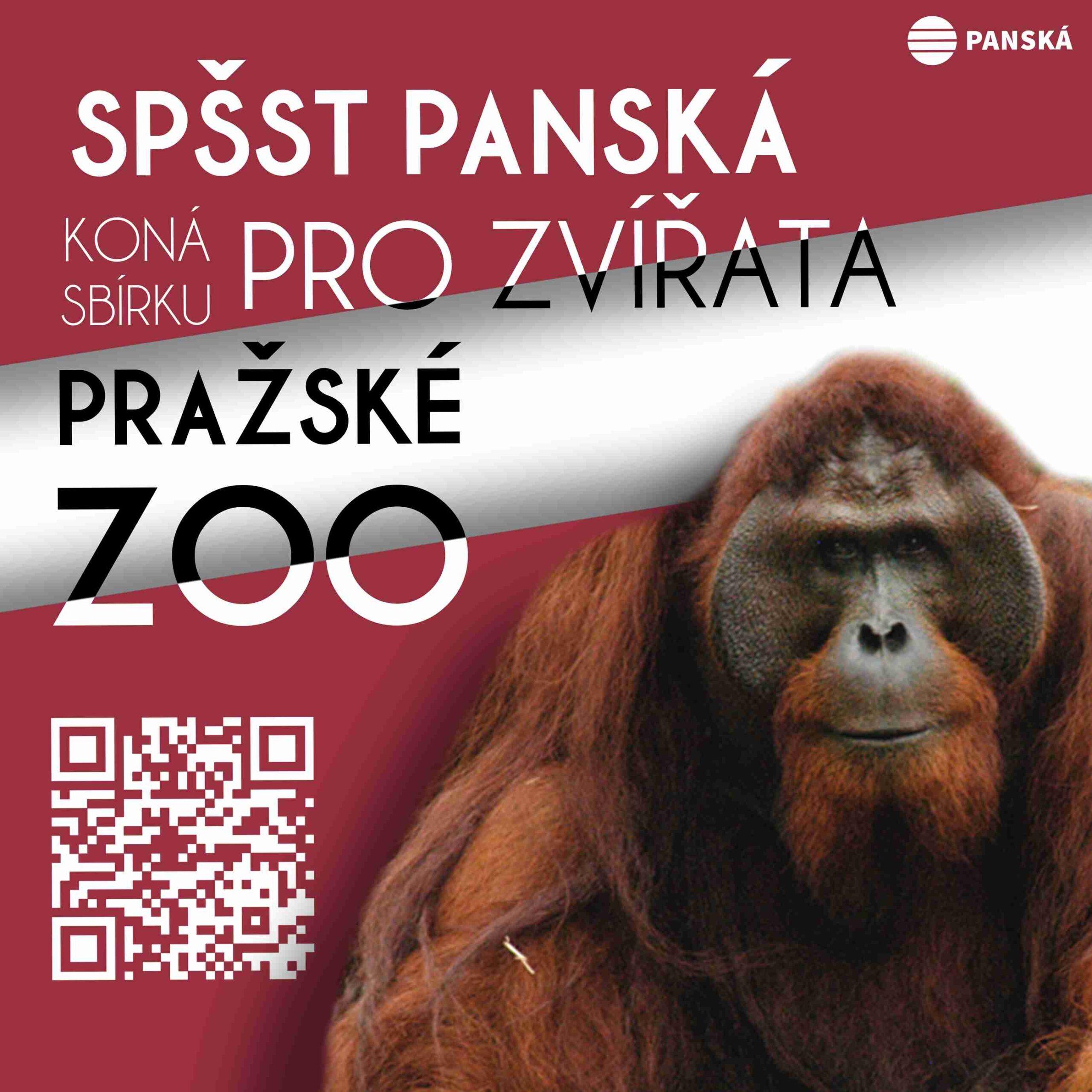 Sbírka pro zvířata pražské ZOO